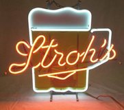 Stroh's Beer Mug Neon Sign in Schaumburg, Illinois