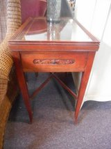 Mahogany Occasional Table(s) in Naperville, Illinois