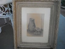 Pencil drawing of a stillife by CANEVARI in Yucca Valley, California