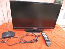 """SAMSUNG 22"""" Flat screen 1080p TV w/remote and antenna in Yucca Valley, California"""