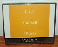 NEW Loving God Yoursel & Others Christian Audio Book CD 4 Disc Set Joyce Meyer in Oswego, Illinois