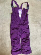 Lands End Girls Snow Bibs Size 6 in Chicago, Illinois