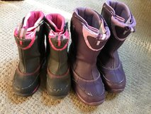 Lands End Girls Snow Boots Size 9 and 13 in Chicago, Illinois