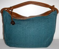 Furla Italy Teal Green Lg Shoulder / Tote Purse - Hobo Bag ~EUC in Orland Park, Illinois