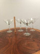 Large Glass Vases - Drink Glass Shapes (9) in Lockport, Illinois