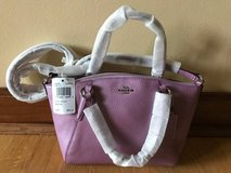 Coach Mini Kelsey Satchel/handbag, Lilac- New in Naperville, Illinois