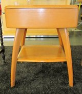 SALE Mid-Century Modern Heywood Wakefield Side or Lamp Table w/drawer M793 in Bolingbrook, Illinois