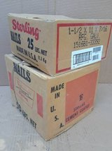 (2) Boxes of Nails - Apx 75# of nails in Schaumburg, Illinois