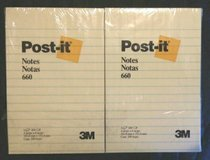 "24 Post-it Notes 4""×6"" Lined Pads in Schaumburg, Illinois"