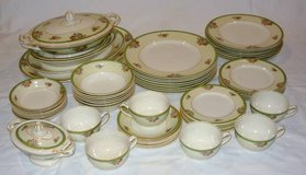 6+ Place Settings w/ Serving Pieces - J G Meakin English China in Bolingbrook, Illinois