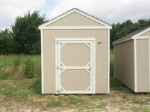 8x12 Utility Storage Shed in Conroe, Texas