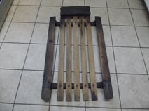 vintage early wood slats & steel roller car creeper rat rod rat truck man cave in Chicago, Illinois