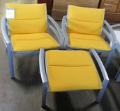 Two Outdoor Arm Chairs with One Ottoman, 3 Piece Set in Elgin, Illinois