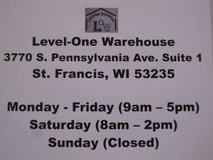 Level One Warehouse Buy 3 Get 1 Free Sale in Brookfield, Wisconsin