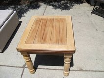 MASSIVE REDUCTION ---ALL WOOD END TABLE NEW in Tinley Park, Illinois