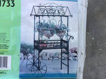 GARDEN CART with HANGING BASKETS - NEW IN THE BOX in Byron, Georgia