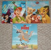 Lot of 3 Disney Hard Cover Books Lion King Dumbo Peter Pan 2010 Creative Edge in Chicago, Illinois
