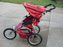 Tike Tech Single Sport Series Stroller - Red in Fort Campbell, Kentucky