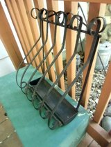 antique wrought iron newspaper holder (box) scrolling design in Brookfield, Wisconsin