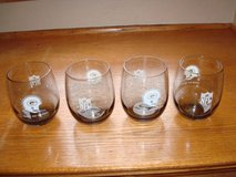 1970's GREEN BAY PACKERS Smoked Glasses - Qty 4 - LARGE Version - L@@K in Brookfield, Wisconsin