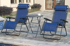 New! Pair of Zero Gravity Outdoor Patio Chairs DELIVERY AVAILABLE in Camp Pendleton, California