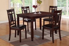New! Hardwood Dining Table and 4 Chairs Set FREE DELIVERY in Camp Pendleton, California
