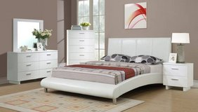 New QUEEN or FULL Size White Arched Bed Frame FREE DELIVERY in Camp Pendleton, California