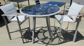 Pub Height Outdoor Table and 2 Chairs in Aurora, Illinois