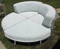 Four Piece Round Outdoor Sectional Sofa in Elgin, Illinois