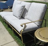 Misc Showroom Floor Outdoor Furniture in Gold Tone Finish in Bolingbrook, Illinois