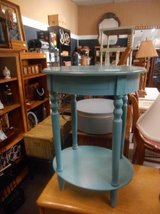Blue End Table in Aurora, Illinois