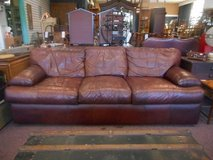 Brown leather Sofa in Chicago, Illinois