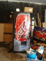 "VINTAGE COCA-COLA VENDING MACHINE (SOLD ""as is"") in Aurora, Illinois"