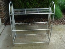 metal shelf (can be repainted) or used as shown in Aurora, Illinois