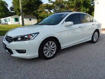 2014 Honda Accord EX-L 4 Cylinder Automatic Leather Sunroof 38k Miles! in Cherry Point, North Carolina