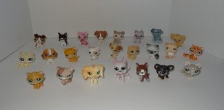 Littlest Pet Shop Lot of 24 Retired Pets (10 Cats & 14 Dogs) - LPS in Naperville, Illinois