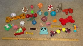 Huge Lot of 28 Dog Toys - Chewy / Squeaky in Lockport, Illinois