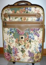 Leisure Tapestry Carry-on Suitcase ~ Rolling Luggage in Orland Park, Illinois