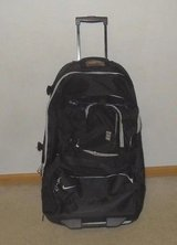Nike Large Roller Luggage Travel Suitcase Athlete Basketball Black Away Games in Naperville, Illinois