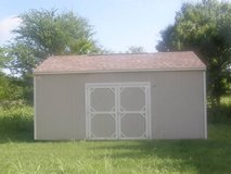 12x20 Utility Storage Shed in Conroe, Texas