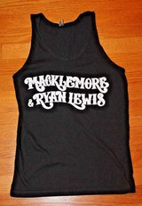 Macklemore & Ryan Lewis 2013 World Tour Black Tank, Cotton, X-Small in Joliet, Illinois