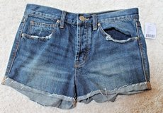 NWT Urban Outfitters BDG TomGirl Denim Button Fly Shorts, MSRP $54, 26w in Plainfield, Illinois