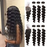 NEW ugrace hair bundles of brazilian hair with closure loose wave new in Kingwood, Texas