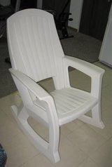 Adult Extruded Plastic Rocking Chair in Aurora, Illinois