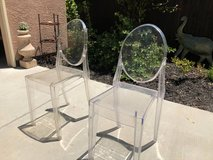 Acrylic Clear Side Chairs, Set of 2 in Fairfield, California