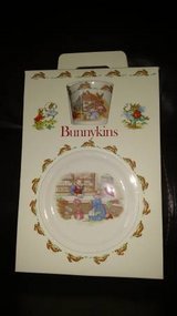 Royal Doulton 3 pc Children's Dinner Set Bunnykins Make in England NIB in Chicago, Illinois