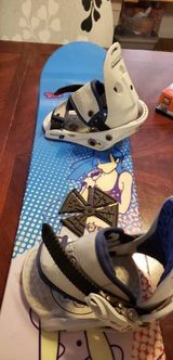 Kids snowboard with bindings.. BURTON in Fort Carson, Colorado