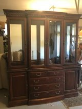 Thomasville China Cabinet EUC in Aurora, Illinois