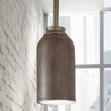 9-Watt Gilded Pewter Integrated LED Pendant Hanging Light in Oswego, Illinois