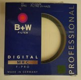 B+W 67mm UV Haze F-Pro with Multi-Resistant Coating Made in Germany in Sugar Land, Texas